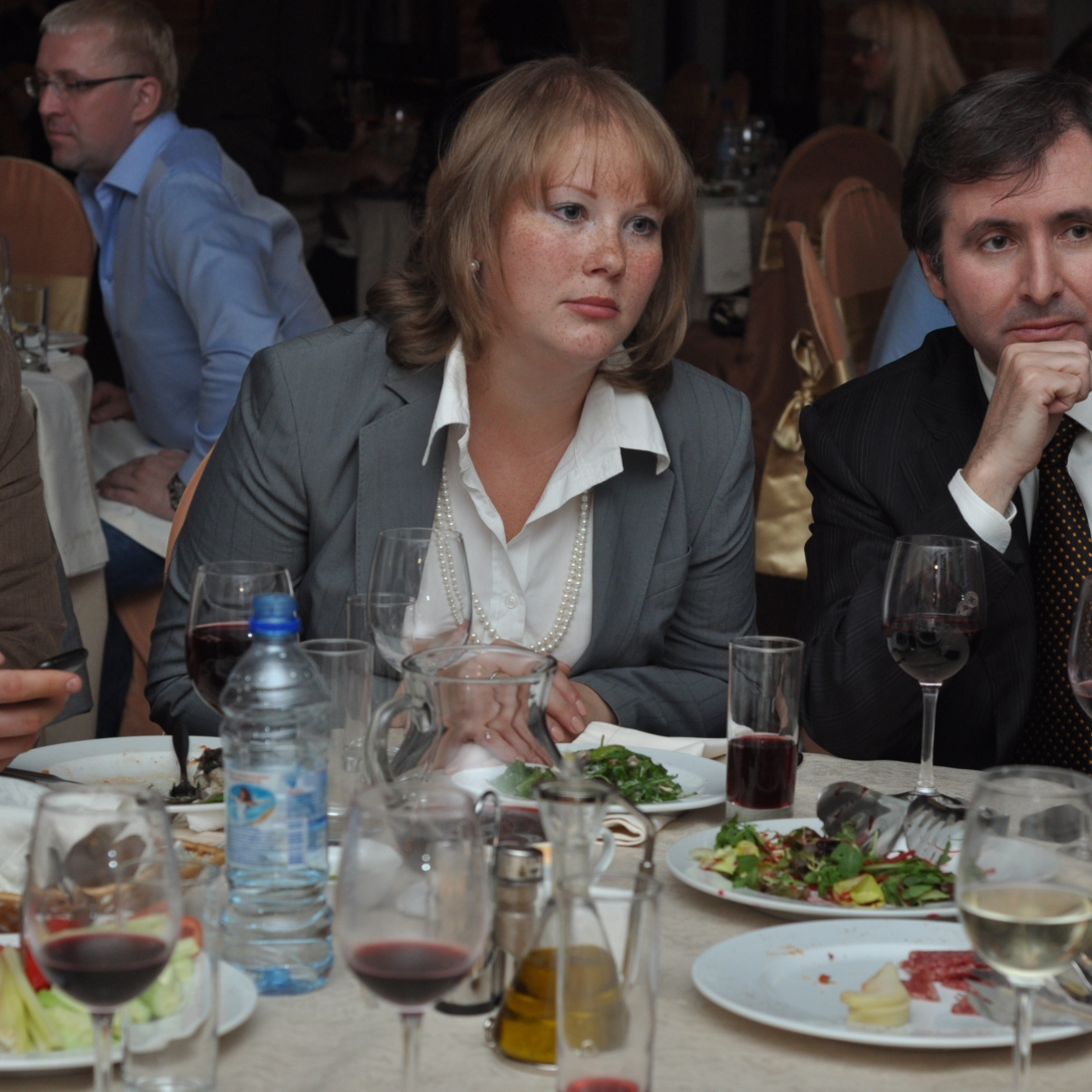 Interpreting at an event hosted by the International Olive Oil Council