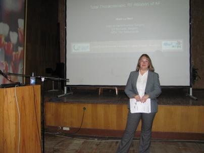 Interpreting at Meshalkin Research Institute of Pathology of Circulation