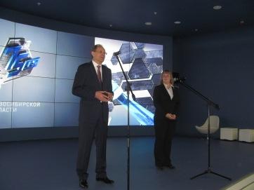 Interpreting for the Governor of Novosibirsk