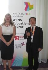 Interpreting at the World Federation of NeuroSurgeons educational course